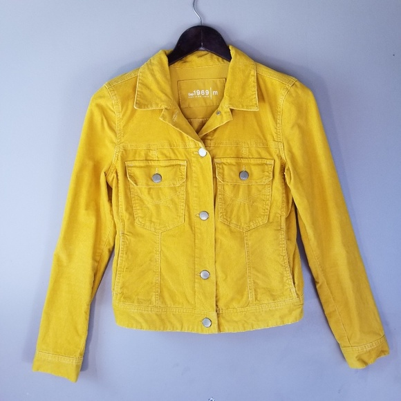 GAP Jackets & Blazers - Gap Mustard Yellow Corduroy Jacket